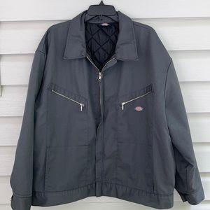 Dickies Gray Zip Up Jacket Size 2XLarge
